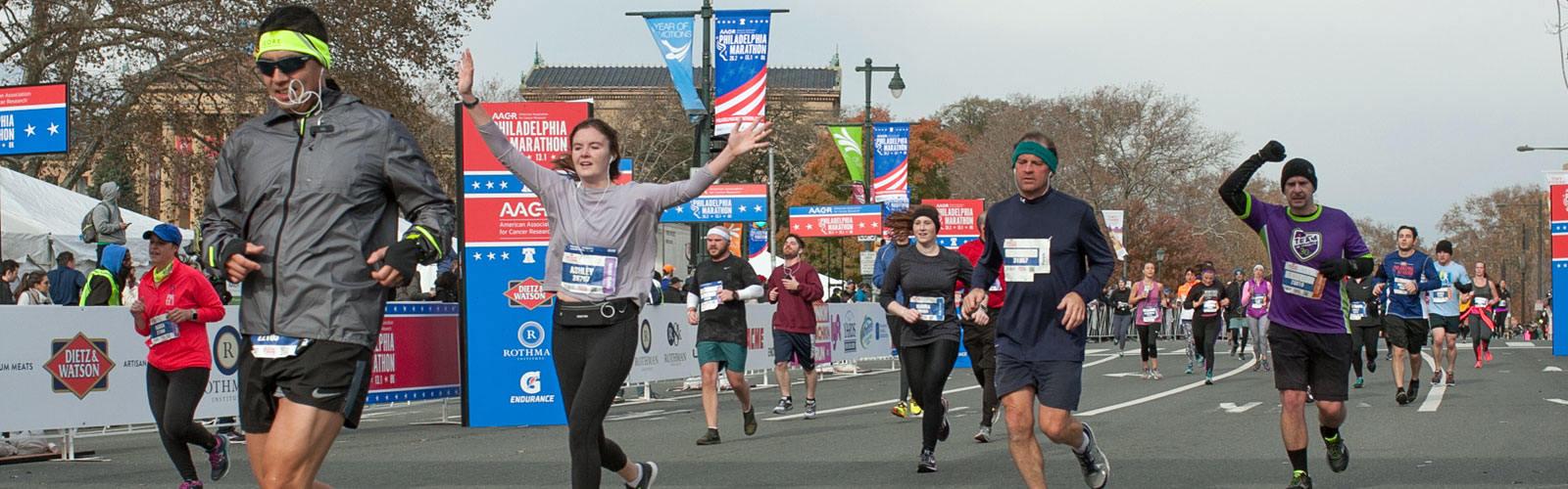 Philadelphia Marathon Weekend